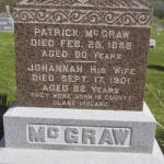 Tombstone Tuesday: Patrick & Johannah (Genan) McGraw