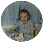 Wordless Wednesday: Great-Grandma Bess With Tea
