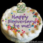 Year Two: It's My 2nd Blogiversary!