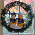 Wordless Wednesday: Happy Holidays from the Snow Chargers