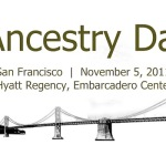 "CGS Announces ""Ancestry Day in San Francisco 2011"""