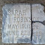 Found Tombstone: Missing Marker or Movie Prop?