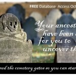 BOO! Free Access to NEHGS's Cemetery Databases Through Nov. 7