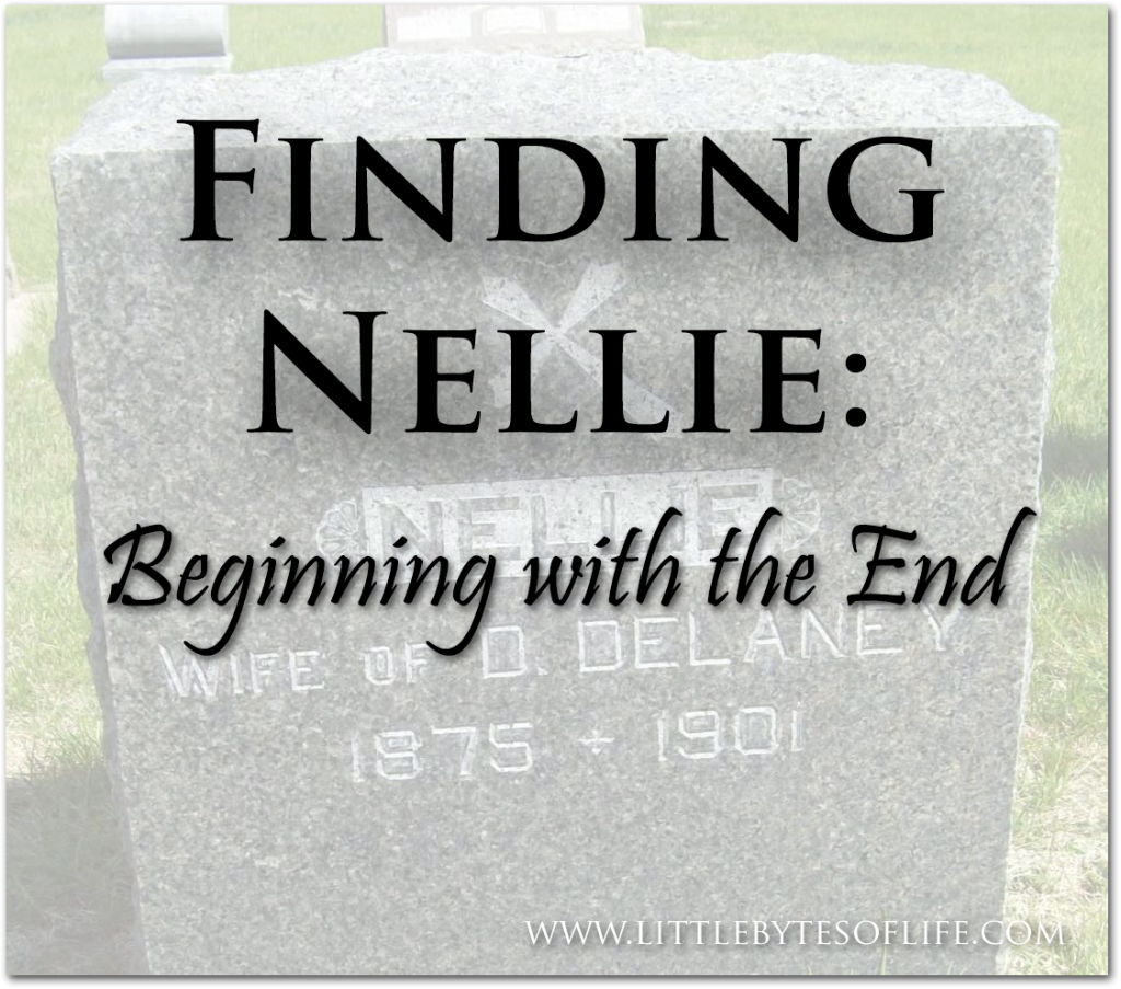 Finding Nellie Part 1