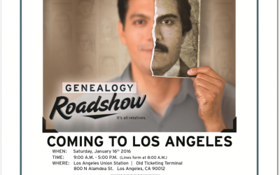 PBS's Genealogy Roadshow Rolls Into L.A. Tomorrow!