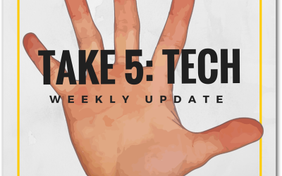 Take 5 Tech: 27 Jan 2016