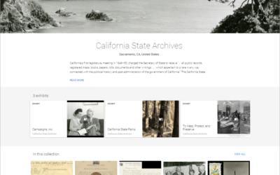 Google to Digitize California State Archives Exhibits