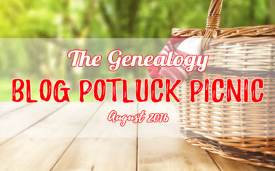 The August 2016 Genealogy Blog Potluck Picnic!