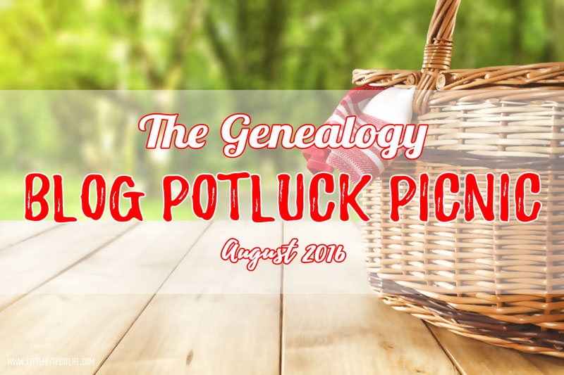 Genealogy Blog Party August 2016