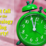 Last Call for the July Genealogy Blog Party: Now with VOTING!