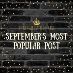 Congrats to the September Genealogy Blog Party Top Vote-Getter!