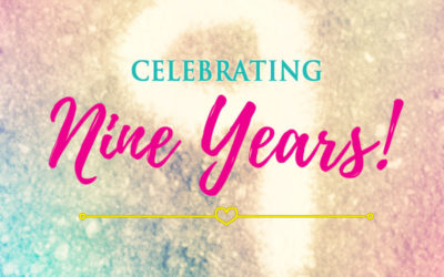 Celebrating Nine Years of Blogging!