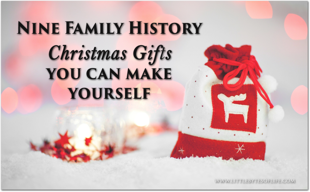 nine family history gifts you can make yourself my