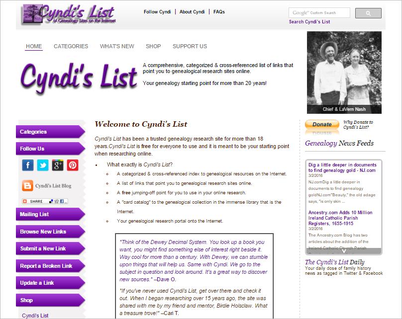 CyndisList