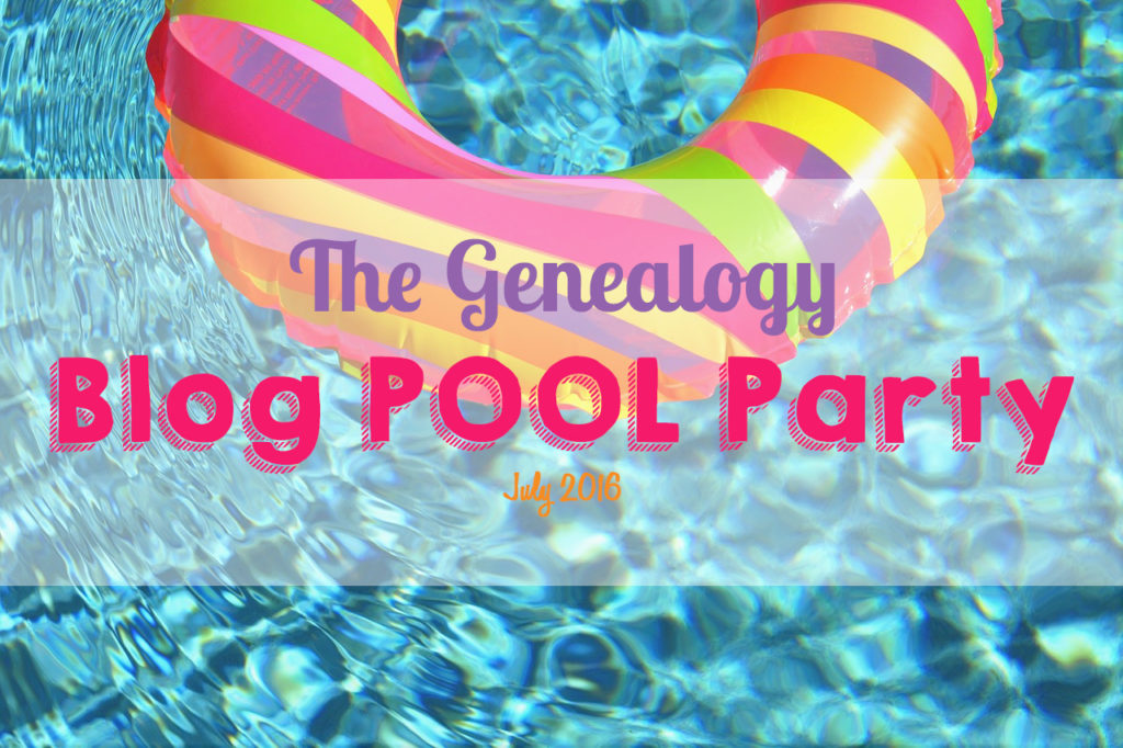 Genealogy Blog Party - July 2016