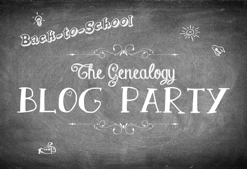 The Genealogy Blog Party - September 2016