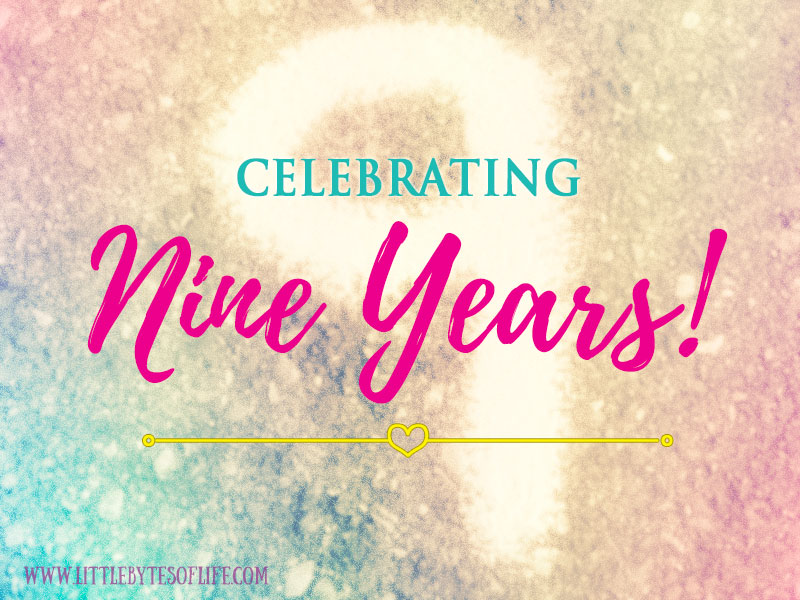 9 Years of Blogging at Little Bytes of Life