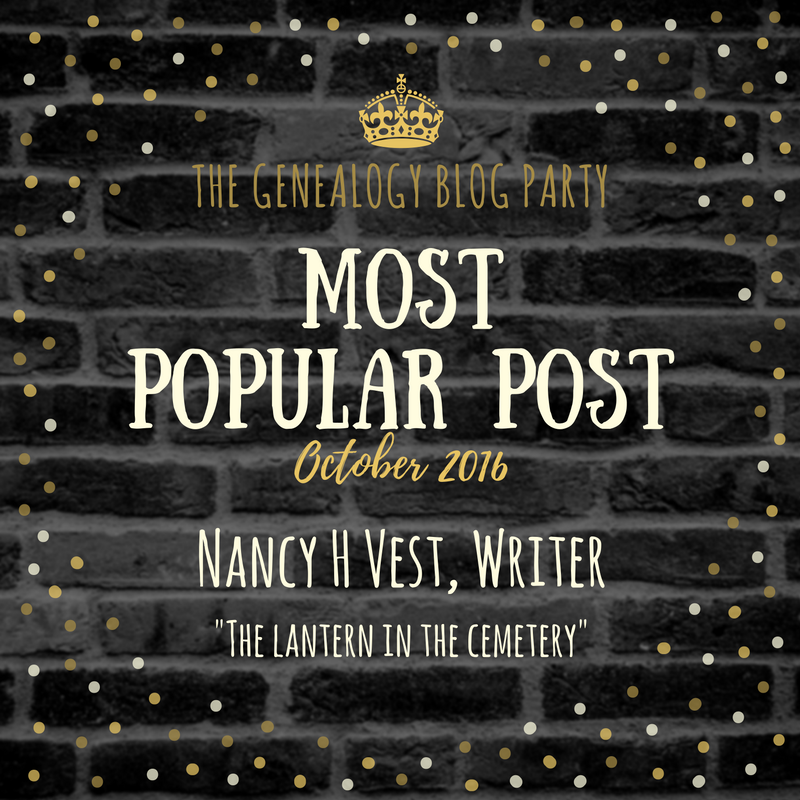 Genealogy Blog Party - October's Top Post